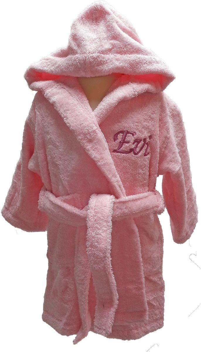 Peignoir bébé personnalisé Evi pour un cadeau original sur Brodeway.com #peignoirpersonnalisé #peignoirbébé