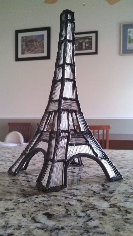 Hey, I found this really awesome Etsy listing at https://www.etsy.com/listing/189234280/3d-stained-glass-eiffel-tower-table