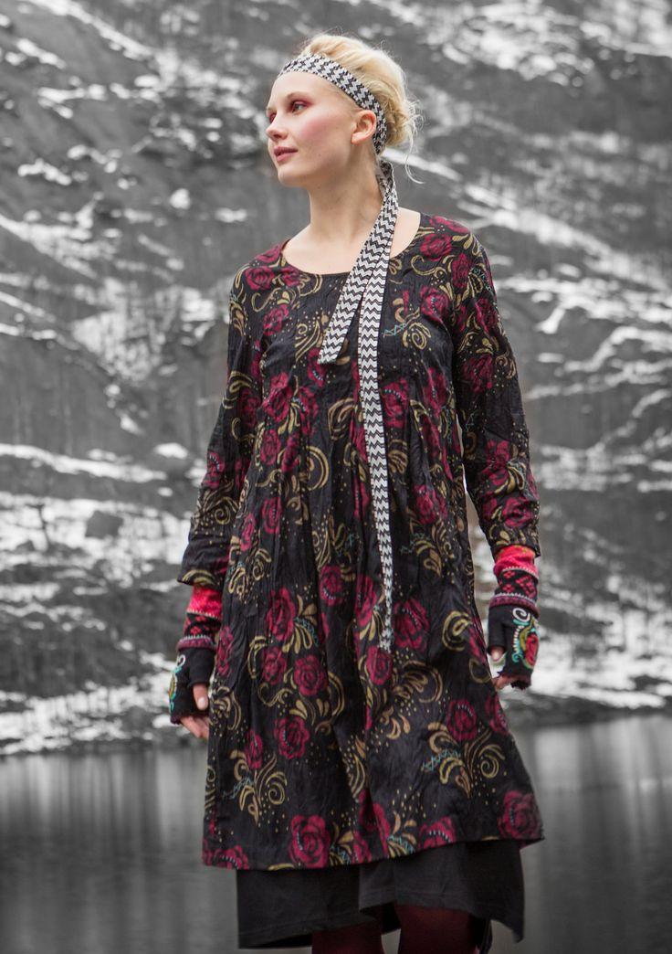 """Robe """"Mette"""" en écocoton–Jupes & robes–GUDRUN SJÖDÉN – Kläder Online & Postorder"""
