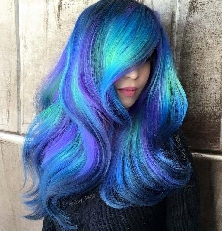 die besten 17 ideen zu galaxie haar auf pinterest regenbogenhaare haarfarben und haar. Black Bedroom Furniture Sets. Home Design Ideas