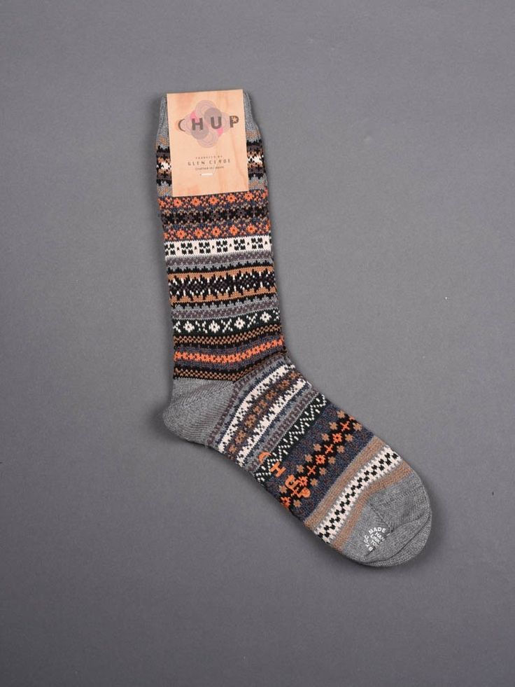 Chup Socks - Natur - Grey -Hand-linked toe -Crafted in Japan