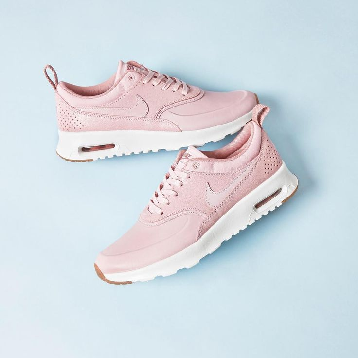 We can't get enough of these! @nike Air Max Thea in Pink Glaze Sail Gum Prm. #nike #airmax #thea #pink #tgif