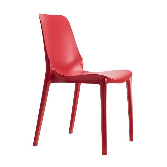 Ginevra Side - Red - Scab