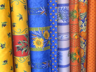 Provencal fabrics.  Repinned by www.mygrowingtraditions.com