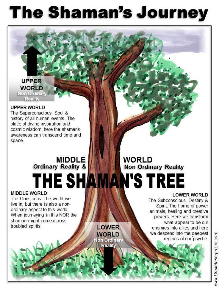 Shaman: The #Shaman's Journey & Tree.