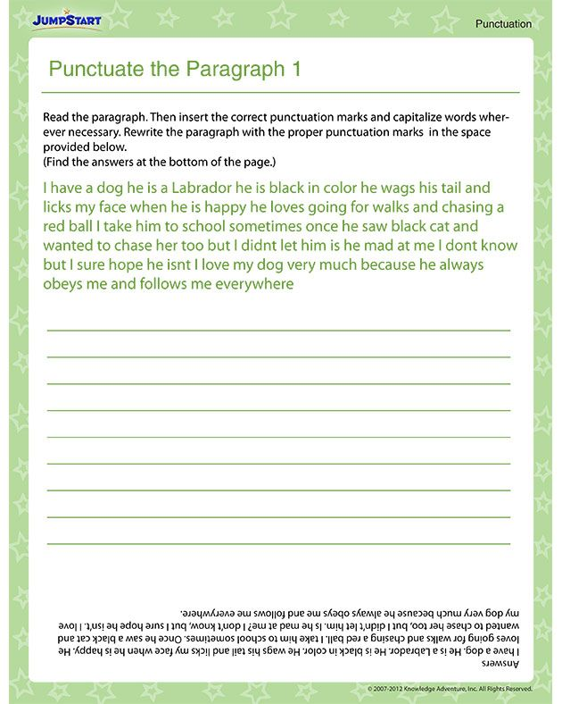 10 best Punctuation images on Pinterest | Teaching ideas, Teaching ...