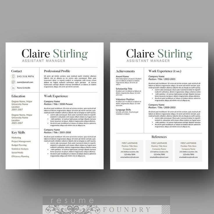 template creative resume templates 2 page free download reference single psd