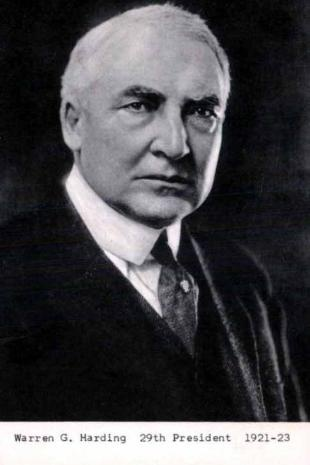 a history of the presidency of warren g harding the worst president of the united states Warren g harding, republican, 1921-1923 (siena poll #41): on this one, the sienna experts and i agree harding was elected president in 1920 promising to return america to normalcy, which meant a.