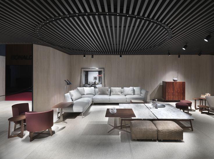 #FLEXFORM ADDA sectional #sofa #design Antonio Citterio. Find out more on www.flexform.it
