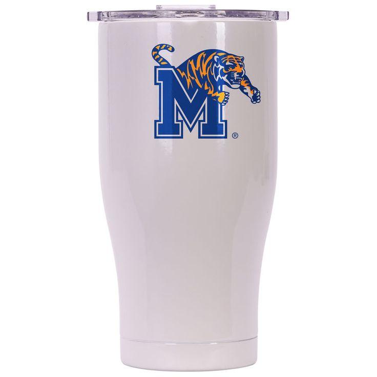 Memphis Tigers 27oz. Chaser Tumbler - White