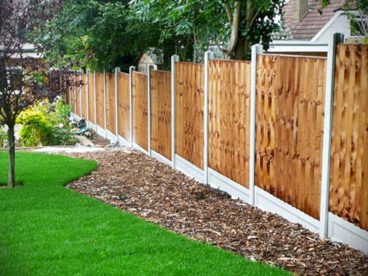 10 cheap garden fence ideas elegant as well as on backyard fence landscaping id=18512