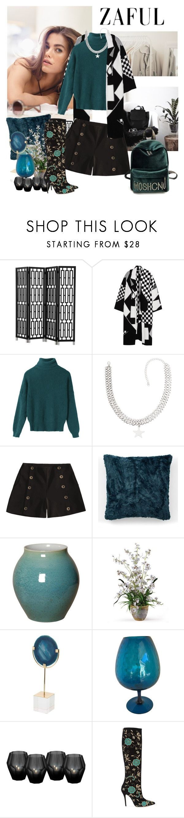 """""""How to wear shorts in winter"""" by moni4e ❤ liked on Polyvore featuring Eichholtz, STELLA McCARTNEY, West Elm and Oscar de la Renta"""
