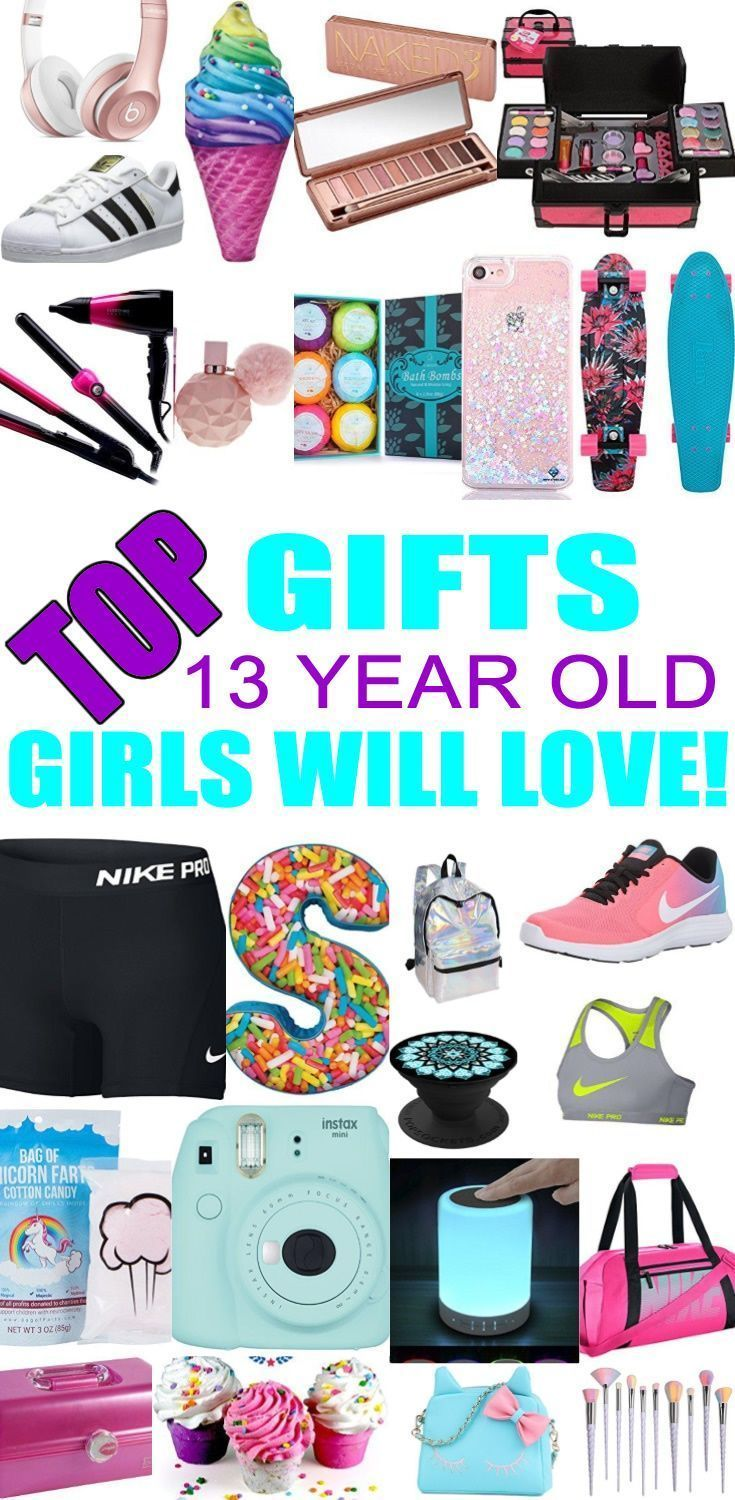 Top Gifts For 13 Year Old Girls Best Gift Suggestions Presents Thirteenth Birthday Or Christmas Find The Ideas A 13th Bday
