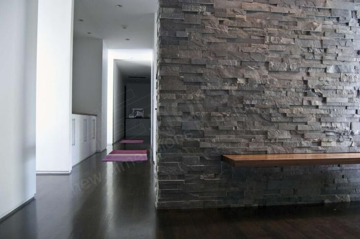 Charcoal XL - Residential - Cambridge - Entryway Feature Wall.jpg