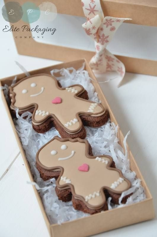 Gingerbread box from www.elitepackagingcompany.co.uk