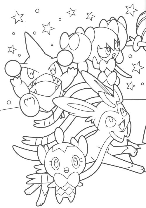 christmas pokemon coloring pages - 720 best images about coloring sheet on pinterest