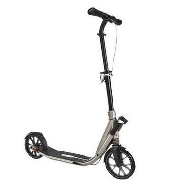 Adults OXELO TOWN9 easy fold scooter with Aluminum alloy frame and 200mm Pu wheel and brake Decathlon scooter, CE was approved