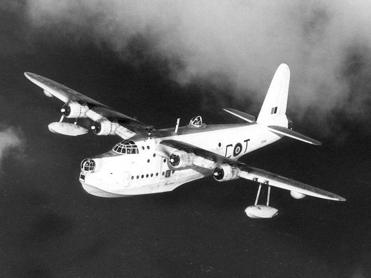 Short S.25 Sunderland Mk V (Sunderland first flight 1937, Mk V variant circa 1944)