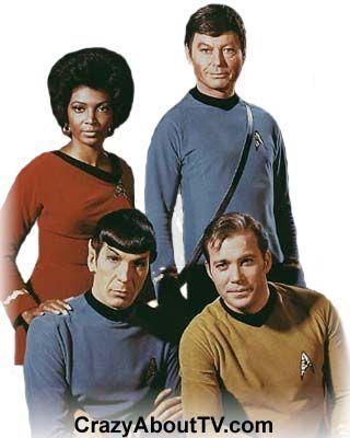 """Star Trek"" ~ William Shatner, Leonard Nimoy, DeForest Kelley 1966-1969"