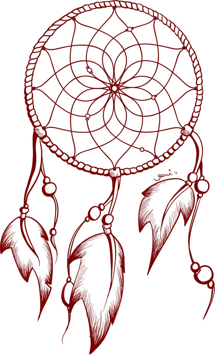 "Tattoo design: ""Dreamcatcher"""
