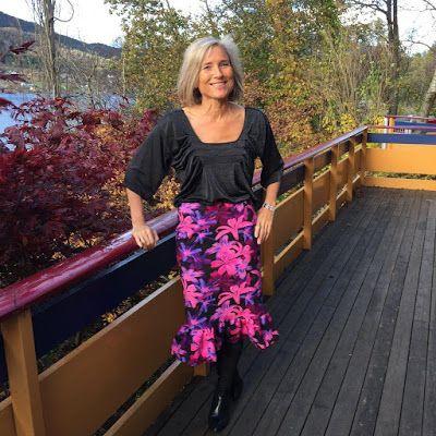 Ellen's Sewing Passion: Flounce Pencil Skirt