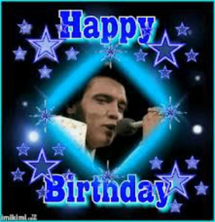 Happy Birthday To The King Today, Elvis Aaron Presley Born