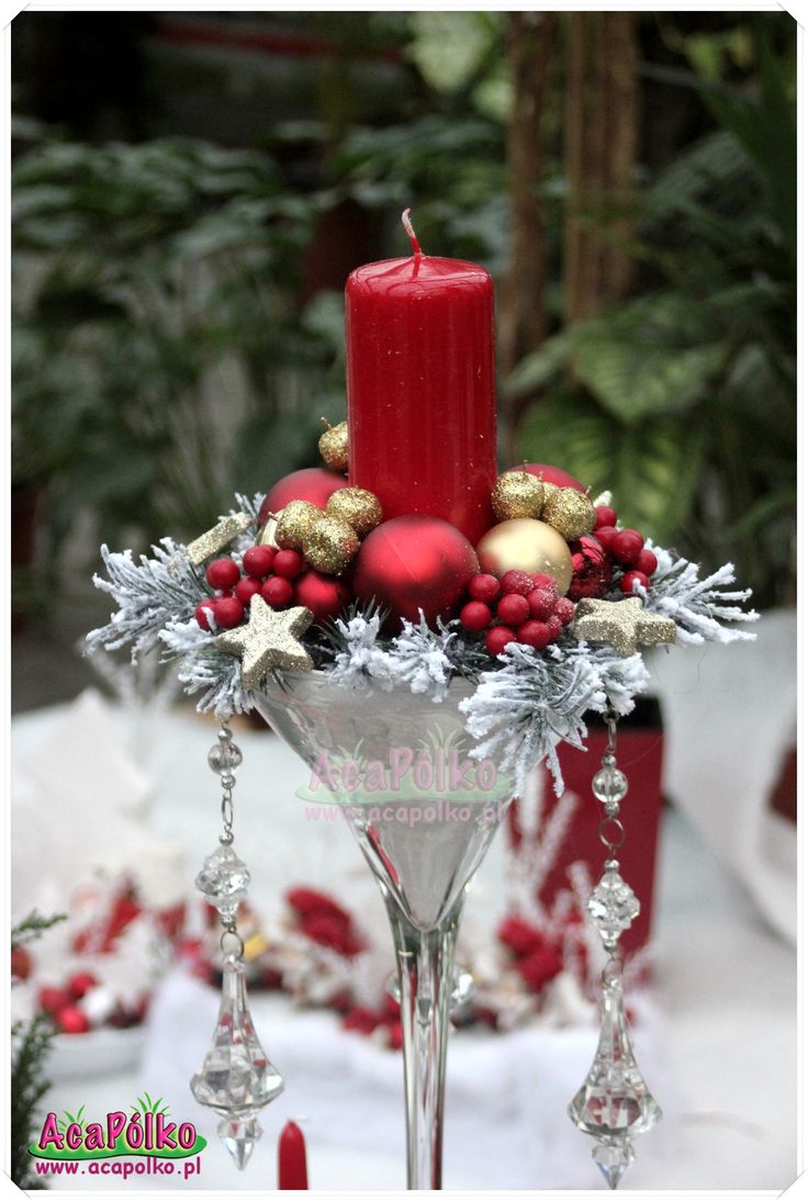 Stroiki Bozonarodzeniowe Christmas Table Decorations Centerpiece Christmas Table Decorations Christmas Decorations