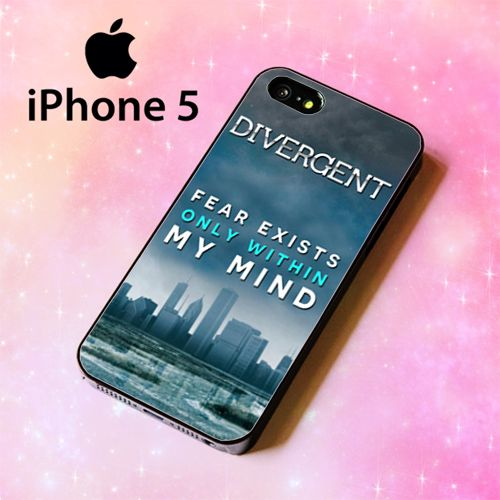 ER1268 divergent dauntless quotes Iphone 5 Case | BirlynaCase - Accessories on ArtFire