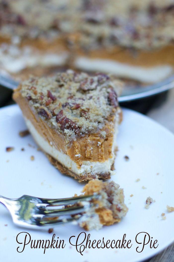 Thanksgiving Pumpkin Cheesecake Pie pumpkin cheesecake pie recipe ...