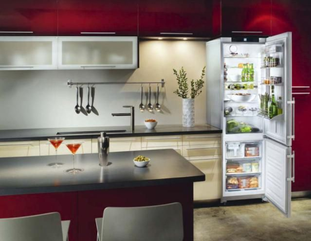 """7 Awesome Space-Making """"Slim Refrigerators"""": Liebherr CS 1311:  The Expensive, Feature-Packed Choice"""