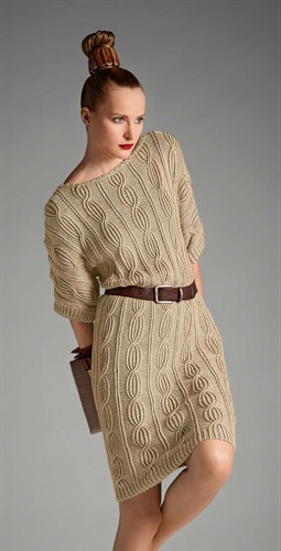 Bergere de France....love the sweater dress....hate the hair