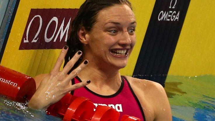 Vierde goud Hongaarse zwemkoningin | Katinka Hosszu