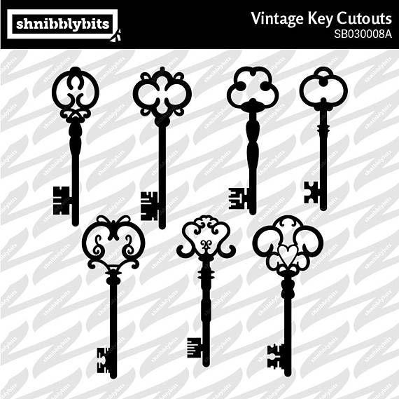 Old Style Key Cutouts