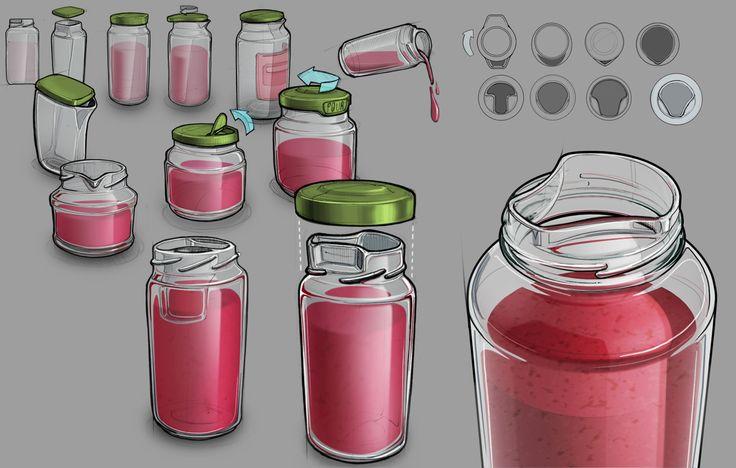 Method: Visualisation Drawings Media: Digital application (raster graphics) Material: screen?