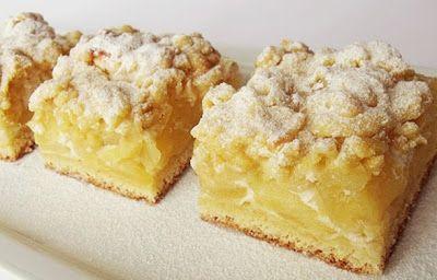 Citromhab: Habkönnyű almás sütemény