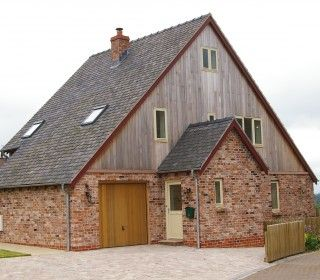 This energy efficient timber frame home, built in 2005 by Eden Frame has high levels of insulation to walls, floors and roof, heat exchange system for heat recovery from air extract, photovoltaic solar electricity, solar thermal panels for hot water and wood Burning Stove with back boiler.   As a result the house requires no central heating!