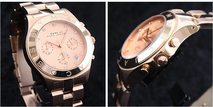 【楽天市場】マーク バイ マーク ジェイコブス [MARC BY MARC JACOBS] ブレード クロノ [BLADE CHRONO] MBM3102 レディース / ウォッチ 腕時計 #103304:腕時計本舗