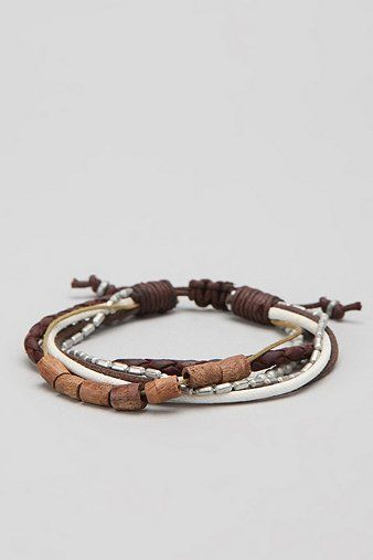 mixed media bracelet | urban outfitters