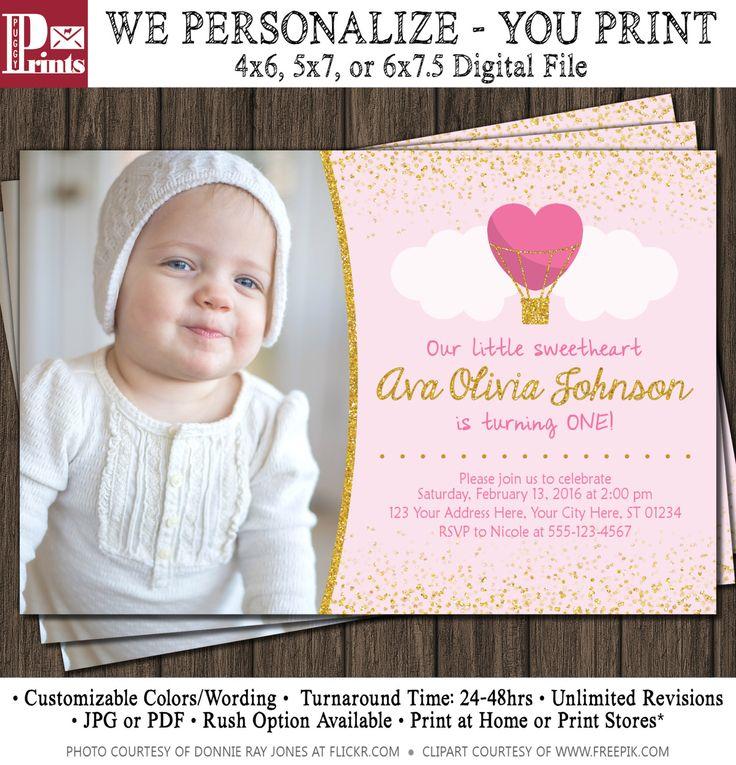 Best 25 first birthday invitations ideas on pinterest girl valentine birthday invitation valentines first birthday invitations by puggyprints on etsy stopboris Choice Image