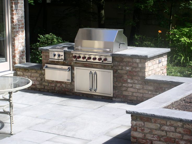 Outdoor Patio Grill Station For The Home Pinterest