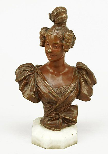 Georges van der Straeten (Belgian, 1856-1928) Bust of a : Lot 1706084