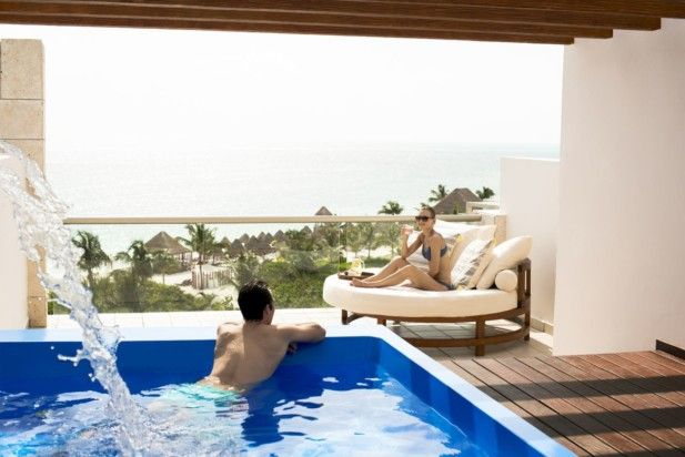 Excellence Playa Mujeres is a dreamy destination for weddings, honeymoons and even just a romantic getaway with your sweetie. It's luxurious, all-inclusive and sure to take your breath away!