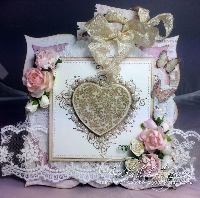 Bryllupskort - Audhild Ljones - Stempelglede :: Design Team Blog