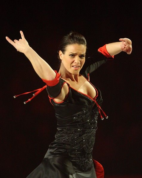 Katarina Witt farewell tour in her most famous role as Carmen.