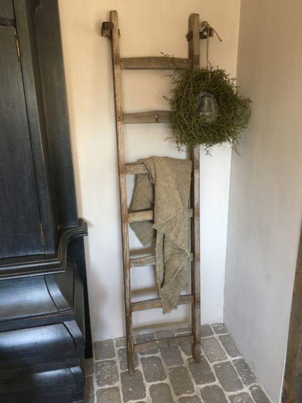 Landelijke Houten Decoratie Ladder