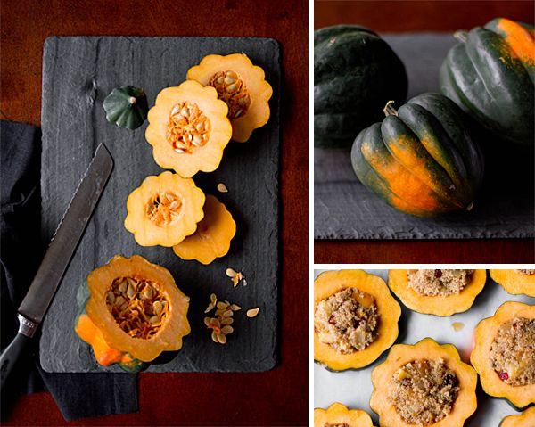 Quinoa-Stuffed Acorn Squash Rings | gluten free, vegetarian # ...