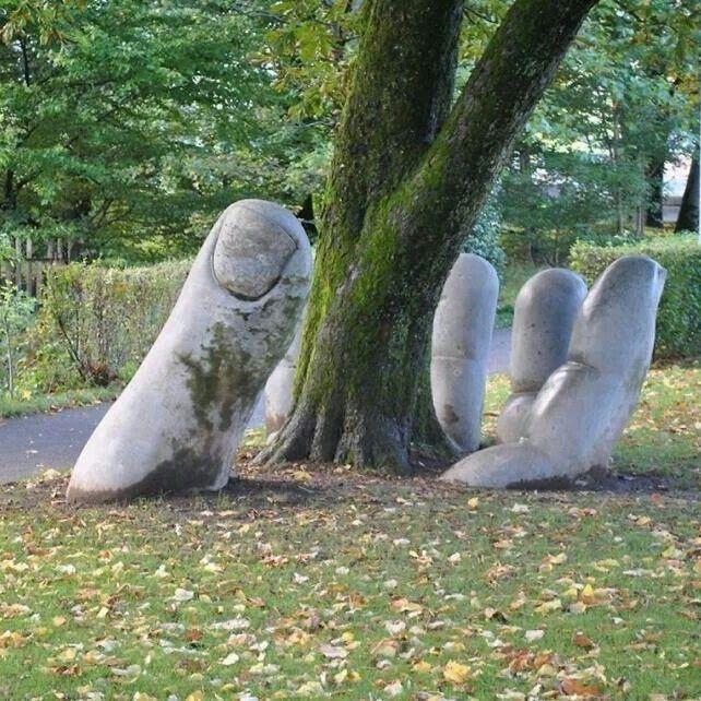 Stunning park art