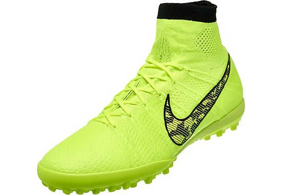 Nike Elastico Superfly Turf Shoes - Volt