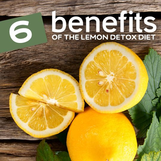 Here are 6 good reasons why you may want to try doing a lemon detox…  #detox bembu.com