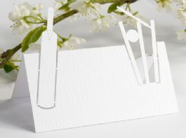 Howzat! Sports Themed Cricket Name Place Cards (Pack 10)